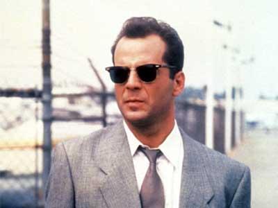 Bruce Willis con gafas Browline
