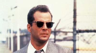 Bruce Willis con gafsas Browline