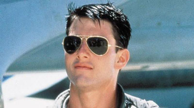 Tom Cruise Ray Ban Aviator